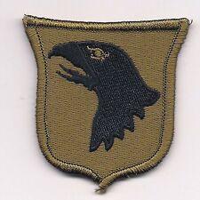 Multicam 101st Airborne Eagle Shield Badge Patch w/Hook Fastener