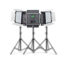 3 Pcs Dison E-2000II LED Photo Continuous Lighting Lamp fr Studio/ Video/Film