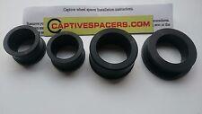 Yamaha R1  2004 - 2014 Captive wheel Spacers. Full set. Black.