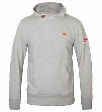 adidas Originals Great Britain Union Jack Mens Hoody Grey Marl Hoodie M