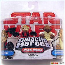 Star Wars Galactic Heroes Nien Nunb and Admiral Ackbar rebels 2-pack