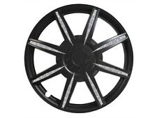 Pilot Diamond Dust 15 Inch Wheel Cover, Matte Black WH531-15B-B