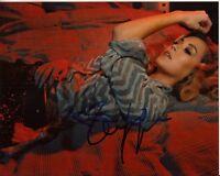 ALEXA VEGA hand-signed SEXY 8x10 CLOSEUP LYING IN BED authentic w/ UACC RD COA