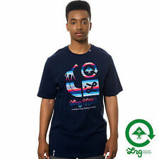 LRG L-R-G Lifted Brighter Skateboard T-Shirt Tee Navy NWT $28 35€ Snow Street