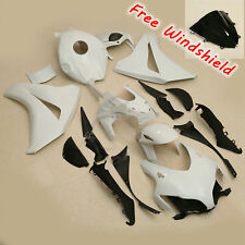 ABS Unpainted White Fairing Kit Bodywork For HONDA CBR1000RR 2008-2011 2009 2010