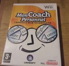 Jeu de Wii - Mon coach personnel. J enrichis mon vocabulaire - TBE
