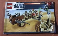 LEGO Star Wars Desert Skiff 9496 INSTRUCTION BOOK MANUAL ONLY boba fett jabba