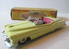 Dinky Toys Version of the Cadillac Eldorado Convertible 1950's Dinky Toys Cars