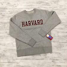 Harvard League Collegiate Wear Sweatshirt Size S New Grey