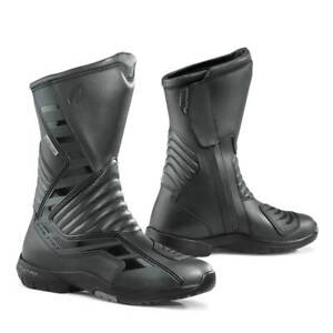 motorcycle boots   Forma Galaxy black touring street waterproof road womens