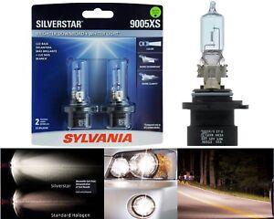 Sylvania Silverstar 9005XS HB3A 65W Two Bulbs Head Light High Beam Upgrade Lamp