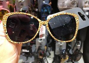 NWT Disney Parks 2021 Leopard Animal Print Mickey Icons Adult Sunglasses