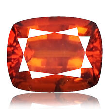 2.40ct 100% Natural earth mined extremely rare aaa orange red spessartine garnet