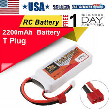 ZOP Power 7.4V 2200mAh 35C 2S Lipo Battery T Plug For RC Racing Drone Car Toy