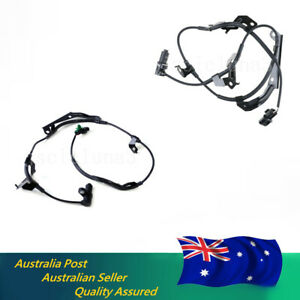 Front Right & Front Left ABS Wheel Speed Sensor Kit For Mitsubishi Triton Pajero
