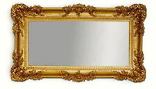 Espejos decorativos dorado para el dormitorio