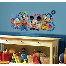 Giant Disney Mickey Mouse Clubhouse Capers Wall Decals Kids Room Decor Stickers