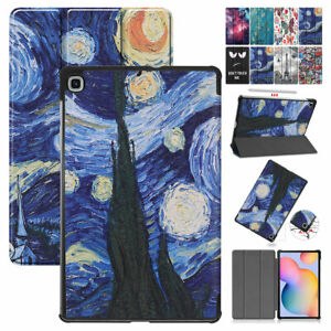 """For Samsung Galaxy Tab S6 Lite 10.4"""" P610 Case Leather Flip Stand Tablet Cover"""