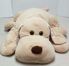 "JUMBO LARGE 38"" Animal Alley Cream Tan Floppy Ear Hound Dog Puppy Plush Stuffed"