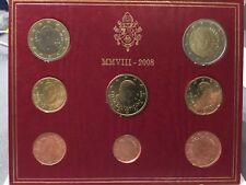 Vaticaan 2008 BU set 1Ct - 2€ in Folder