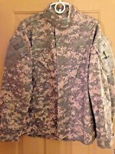 US Military Uniform Shirt Jacket ACU Digital Camo Fire Resistant