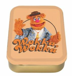 OFFICIAL THE MUPPET SHOW FOZZIE BEAR COLLECTORS TIN KEEPSAKE TOBACCO BOX