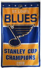 St.Louis Blues 2019 Stanley Cup Finals Champions Banner 3X5FT flag