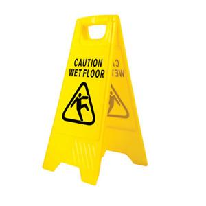 Wet Floor Warning Sign Hazard A Frame Double Sided HV20