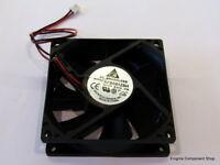 Delta AFB0812SH High Speed 80mm Fan. 12V - 0.51A. UK Seller - Fast Dispatch.