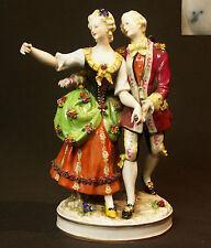 19èm Wallendorf porcelaine groupe superbe sujet figurine statue 695g 22cm saxe