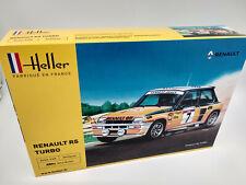 Maquette a monter Renault 5 turbo Ragnotti Heller France neuve echelle 1:24