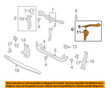 MITSUBISHI OEM 07-12 Galant Radiator Core Support-Outer Support Left 5215A207