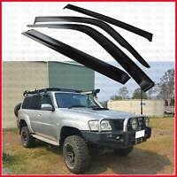 for Nissan Patrol GU Y61 Weather shield Window Visor Deflector Guard 1997-2018