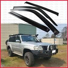 for Nissan Patrol GU Y61 Weather shield Window Visor Deflector Guard 1997-2018