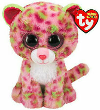 """TY Beanie 6"""" Plush Lainey Leopard"""