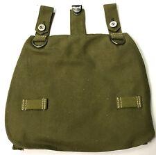 WWII GERMAN M31 BREAD BAG BREADBAG-GREEN W/WEBBING