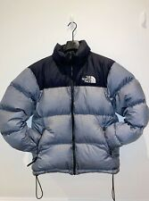 The North Face Nuptse 1996 Down Jacket Grey Size Small Puffer