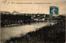 CPA   St-Genix-sur-Guiers - Vue générale et le Guiers    (434418)