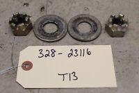 NOS Suzuki OEM Rear Wheel Axle Castle Nut GT500 GT250 T500 T350 T250 08314-31167
