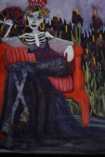 90% OFF! Dulcinea del Toboso Post Mortem No. 1. Quixote. Watercolor Sally Logan