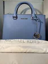 Michael Kors Large Ciara Handbag French Blue