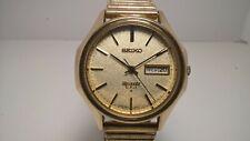 Rare Gold Cap Seiko QMB804 3823-7040 Quartz V.F.A. Vintage High Accuracy Watch
