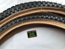 "CHENG SHIN COMP3 TYRE PAIR 24"" x 1.75"" Brand New - OLD SHOOL BMX - FREEPOST"