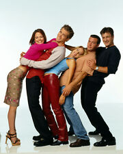 Two Guys and a Girl [Cast] (32714) 8x10 Photo