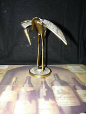 Nice Brass Crane Bird