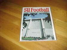 1990 Pitt Panthers v Syracuse Orangemen Football Program