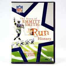 "Emmitt Smith DVD ""Run with History"" Official NFL Films Emmit NEW Factory Sealed"