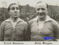 Postkarte Sammler + FC Schalke 04 + Ernst Kuzorra und Fritz Szepan + TOP +