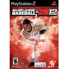 Major League Baseball MLB 2K12 Sony PlayStation 2 PS2 - BRAND NEW + SEALED!