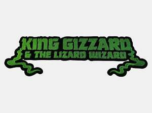 King Gizzard & The Lizard Wizard embroidered backpatch